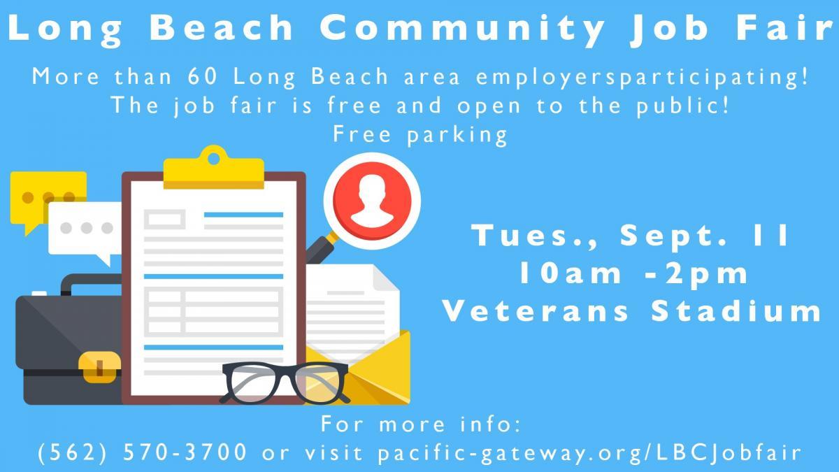 Long Beach Community Job Fair Long Beach City College