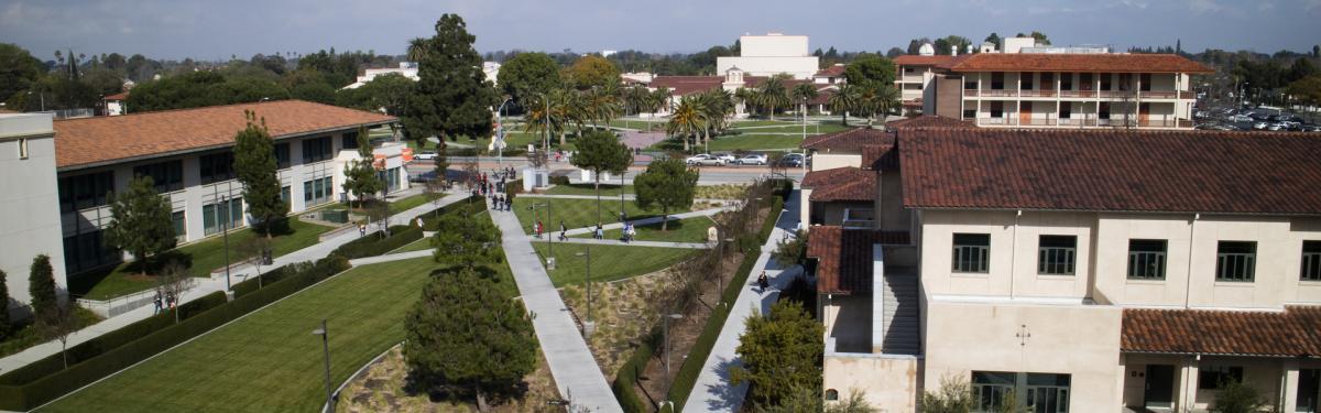 The South Quad At Lbcc Campus