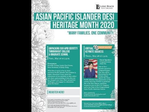2020 APID Heritage Month Virtual Event