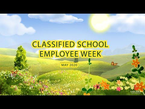 Classified School Employee Week