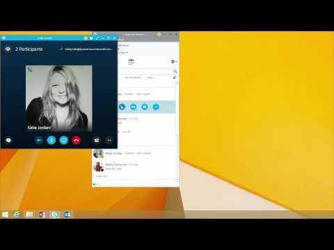 Skype for Business Video Tutorials