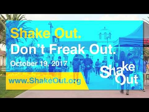 ShakeOut! Don't Freak Out!