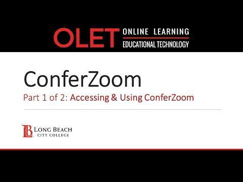ConferZoom Resources