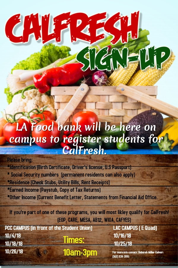 CalFresh Sign-Up Flyer