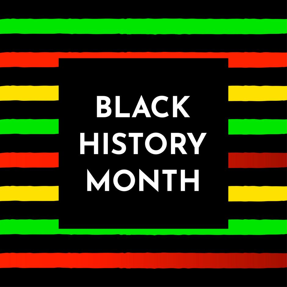 The Black History Month logo.