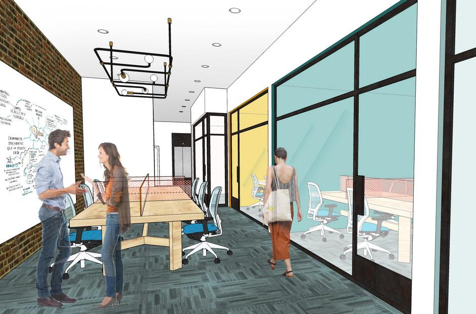 Concept drawing of the new Innovation Center.