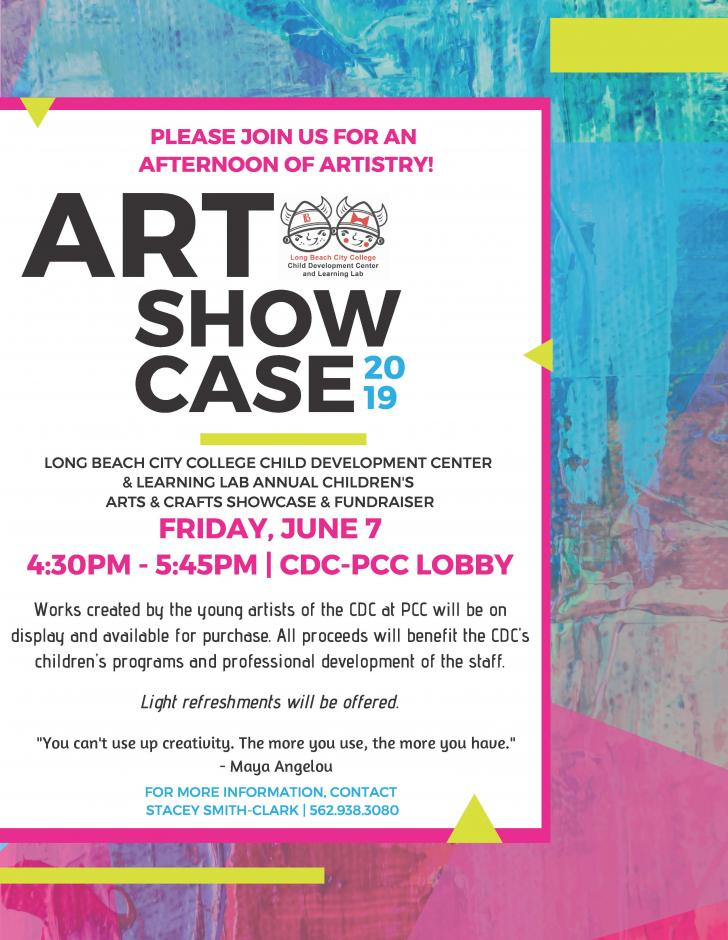 Poster for the CDC Art Showcase