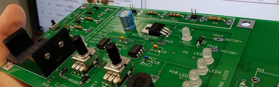 LBCC Electrical Circuit Board
