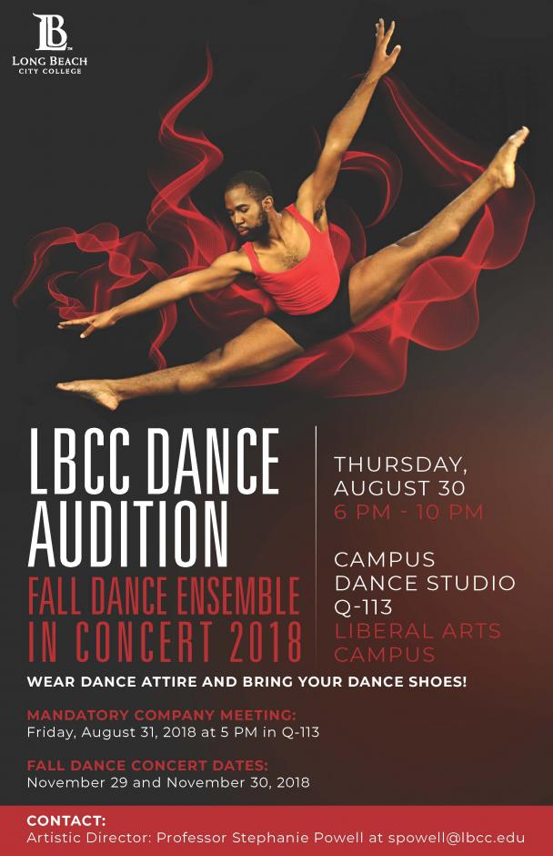 LBCC Dance Audition