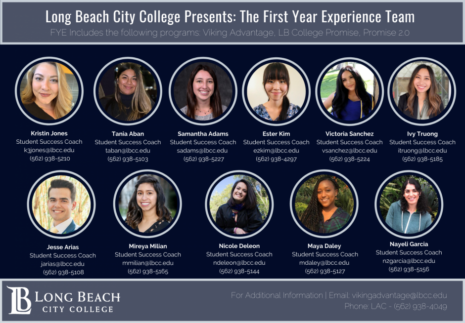 The First-Year Experience Staff