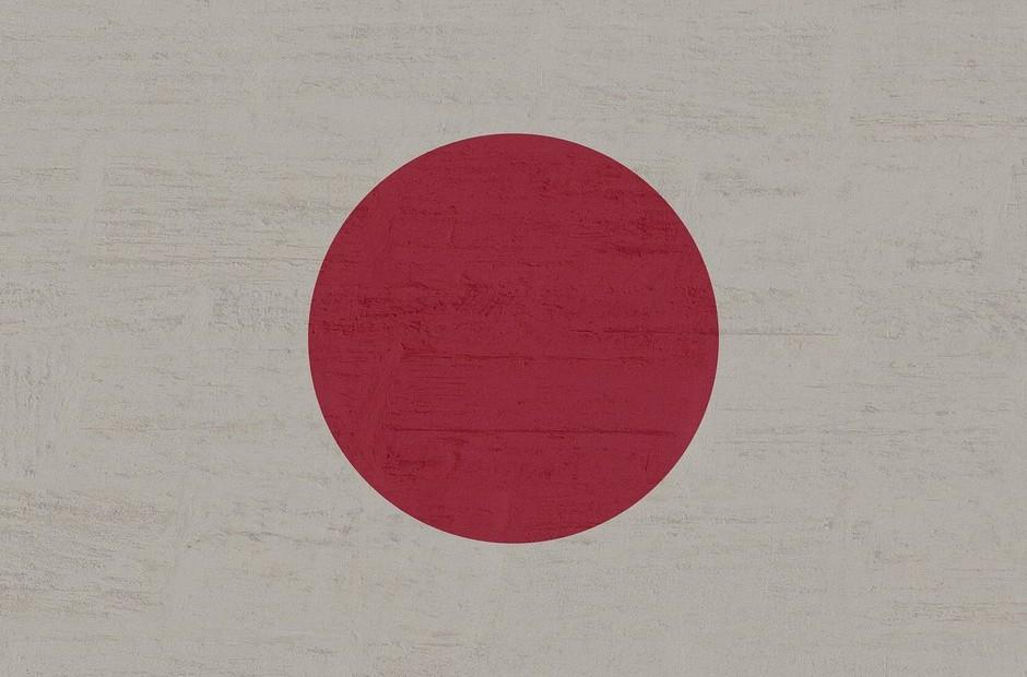 The official flag of Japan.