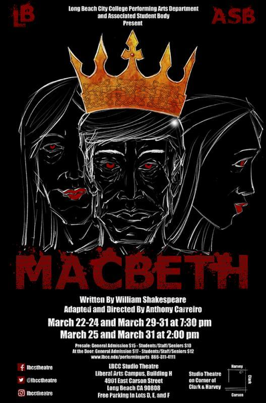 The poster for Macbeth.