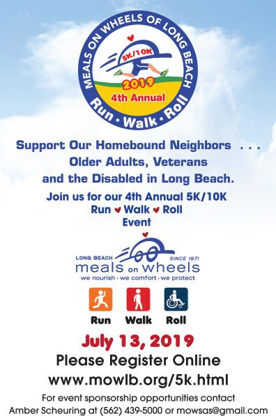 Meals on Wheel 5K Event Flyer