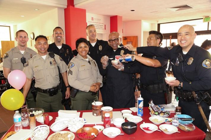 ICE CREAM SOCIAL WITH YOUR LBCC COLD STONE COPS