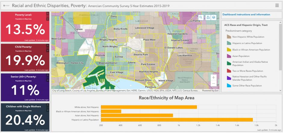 LBCC Geography Hub - Racial Disparities - Race