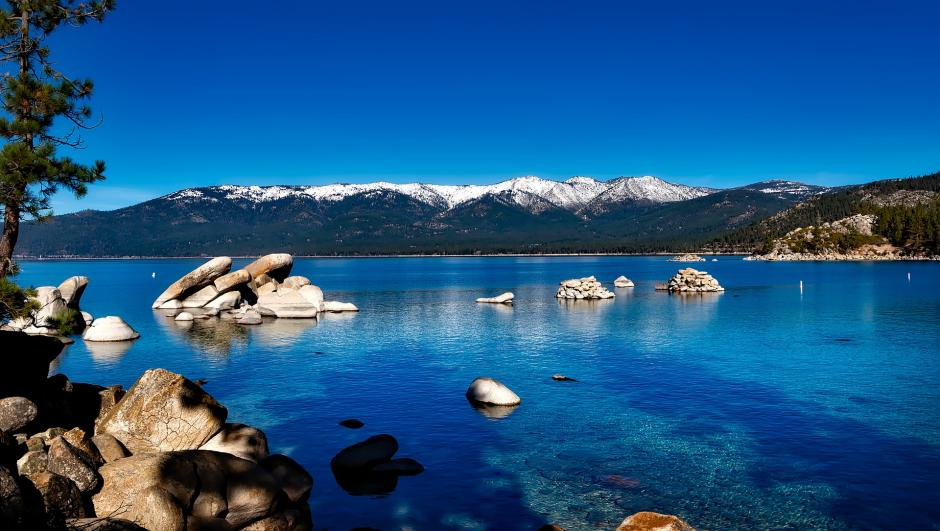 A picture of Lake Tahoe