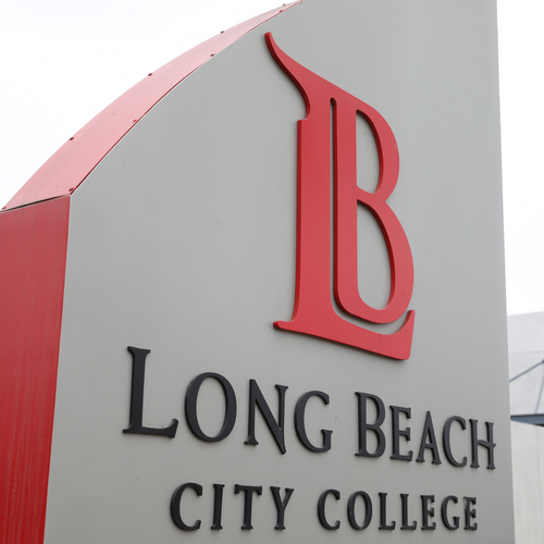 The LBCC sign.