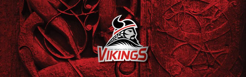 New Vikings Athletic Logo on background