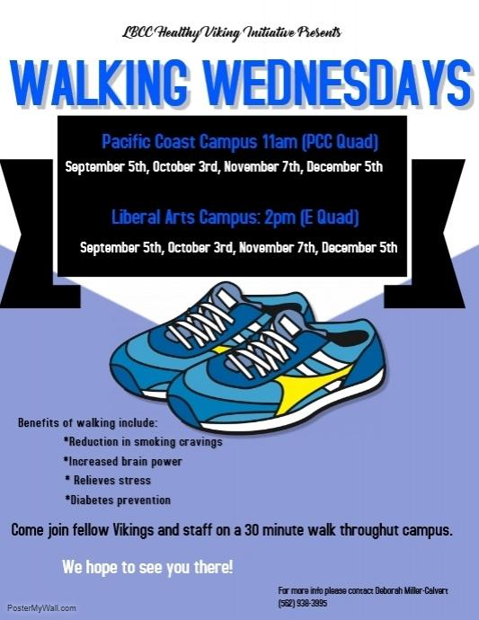 Walking Wednesdays Flyer