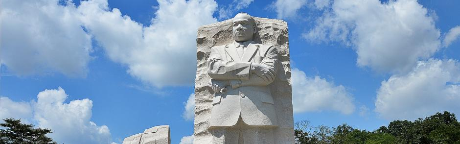The MLK Monument in Washington, D.C.