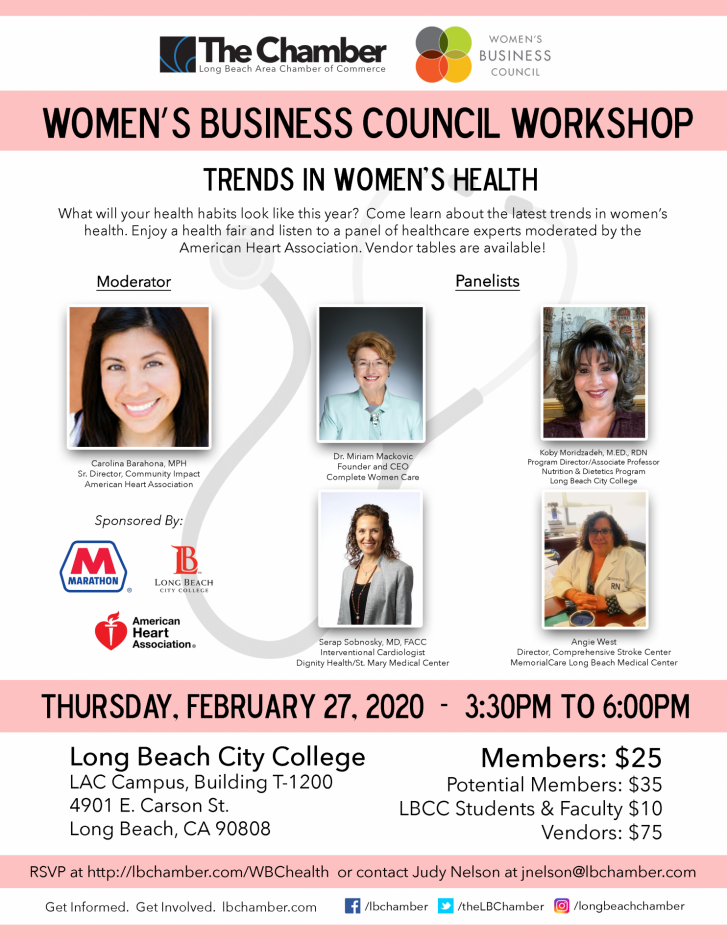 Women's Business Council Workshop Flyer