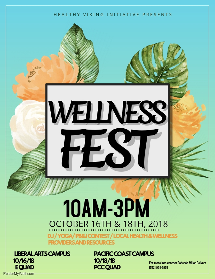 Wellness Fest Flyer