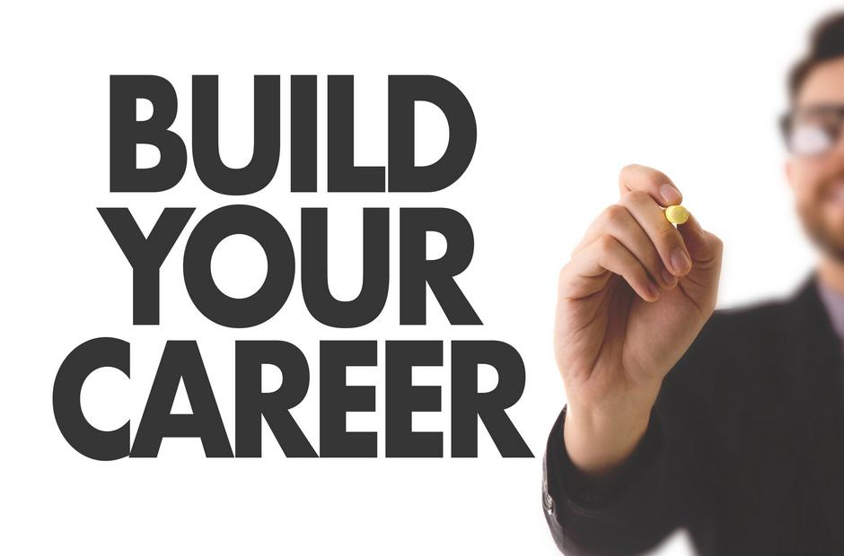 "The words ""Build Your Career."""