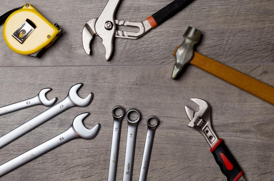 A bunch of tools.