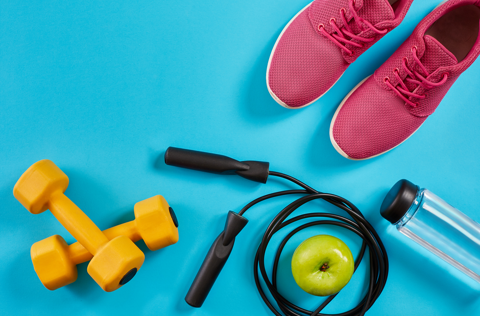 A picture of exercise gear.