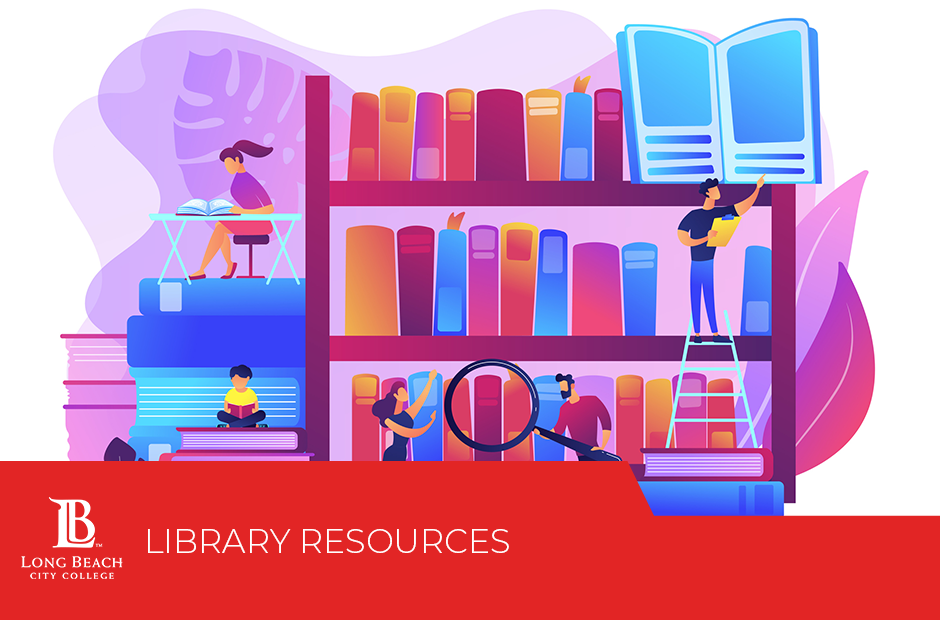 Library Resources tile