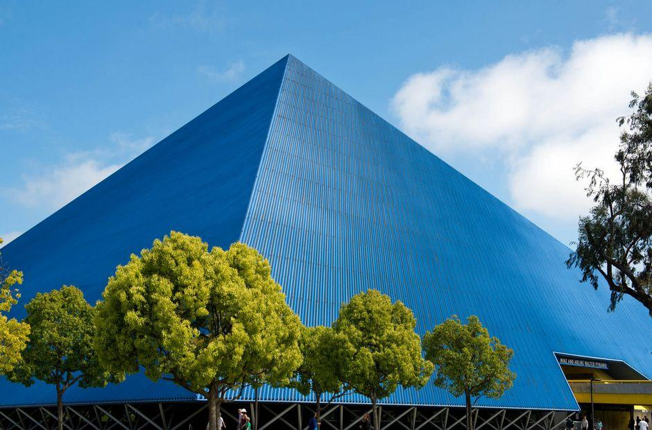 The CSULB Walter Pyramid
