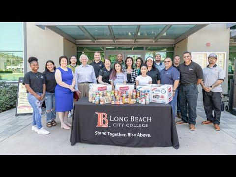 Southwest Regional Council of Carpenters Donates Food to LBCC Students
