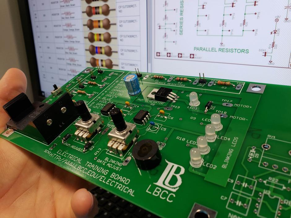 LBCC Electrical Technology Circuit Board