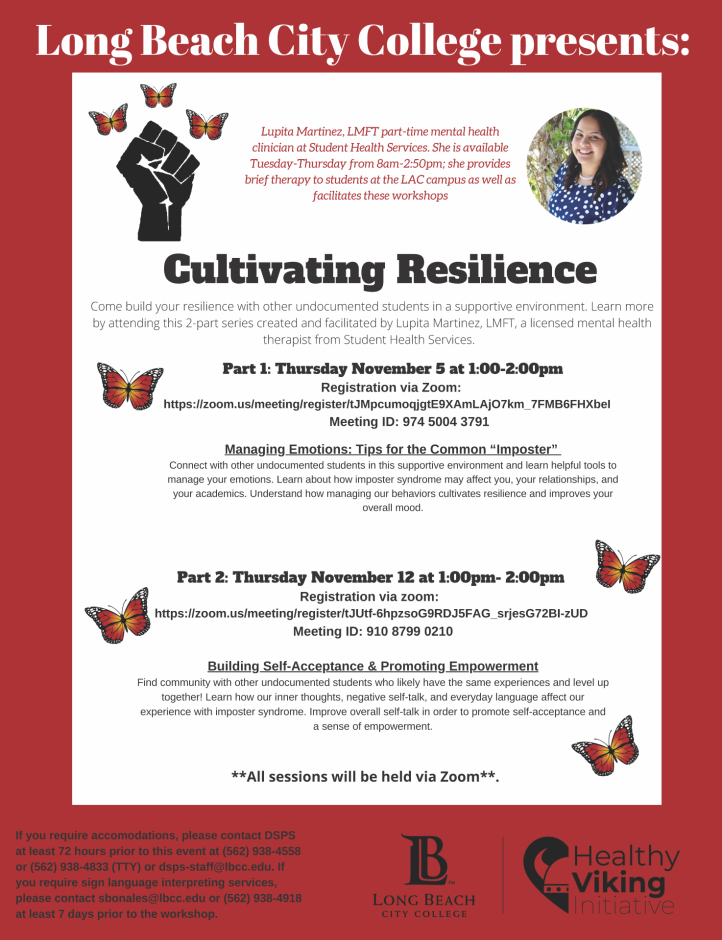 Cultivating Resilience Flyer
