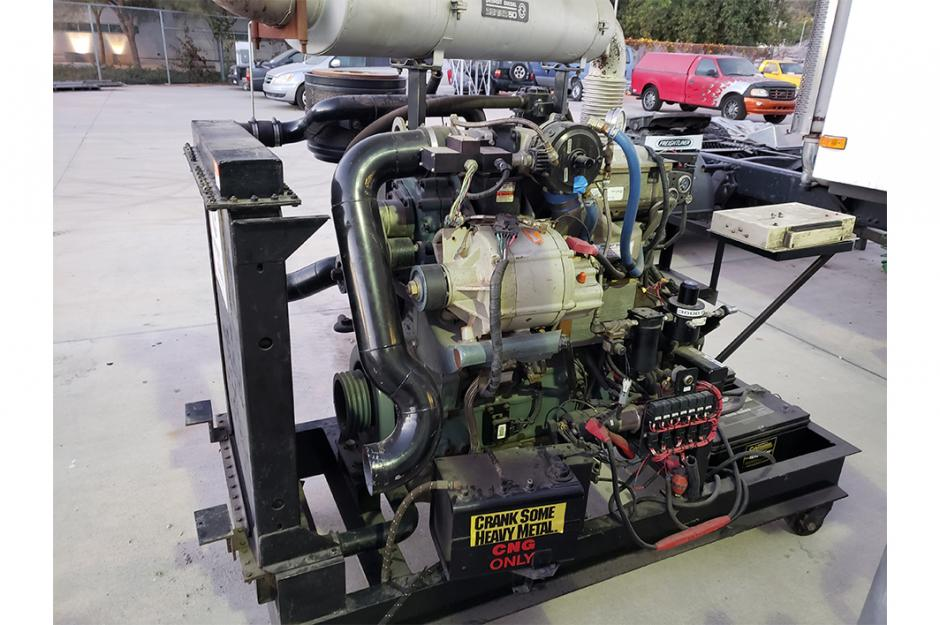 LBCC Advanced Transportation Program engine photo