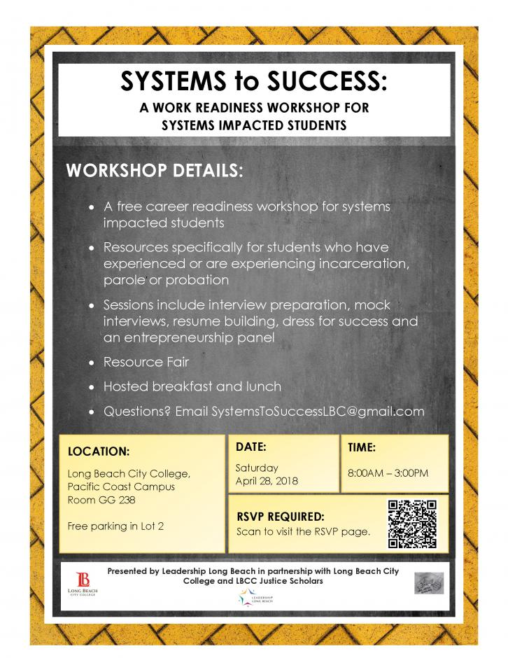 Systems to Success Workshop