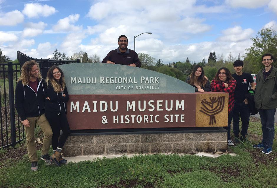LBCC Anthropology Student Field trip to Maidu Museum