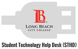 The Student Technology Help Desk logo.