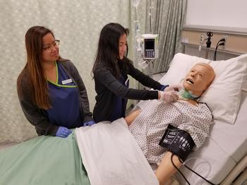 A picture that links to the Vocational Nursing program.
