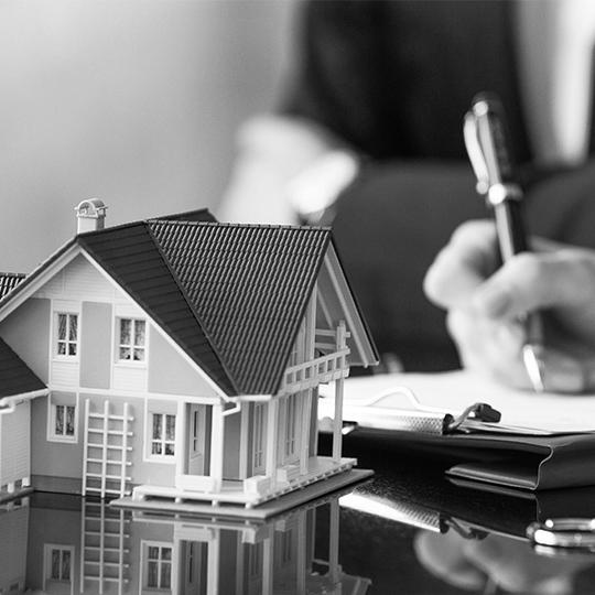Real Estate Agents drafting for purchase agreements