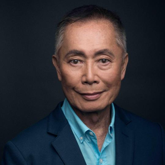 A picture of George Takei.