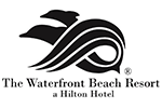 The Waterfront Beach Resort Hilton Logo